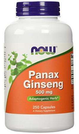 Panax Ginseng, 500mg - 250 capsules versandkostenfrei/portofrei bestellen/kaufen