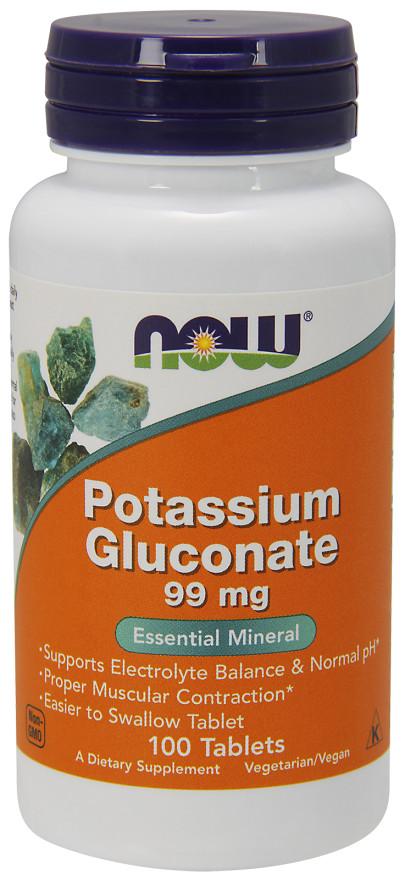 Potassium Gluconate, 99mg - 100 tablets versandkostenfrei/portofrei bestellen/kaufen