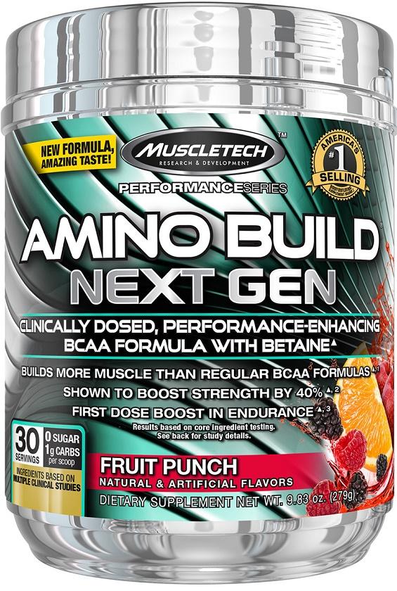 Amino Build - Next Gen, Fruit Punch - 279g versandkostenfrei/portofrei bestellen/kaufen