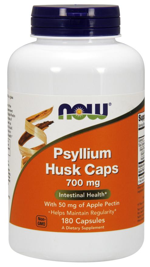 Psyllium Husk, 700mg with Apple Pectin - 180 capsules versandkostenfrei/portofrei bestellen/kaufen