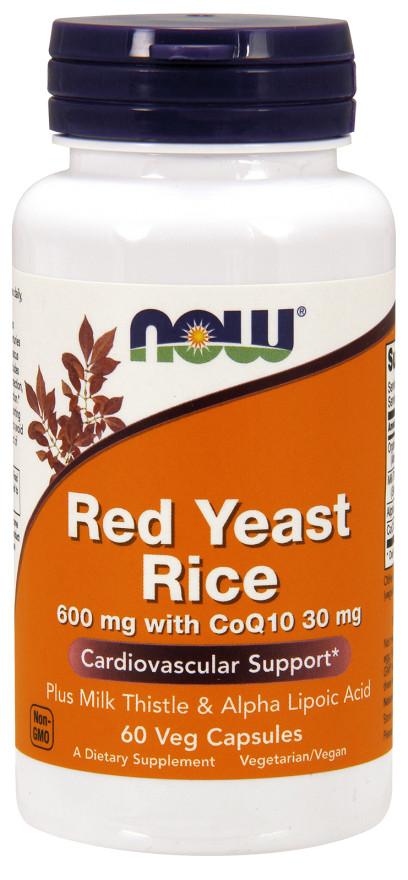 Red Yeast Rice with CoQ10, 600mg - 60 vcaps versandkostenfrei/portofrei bestellen/kaufen