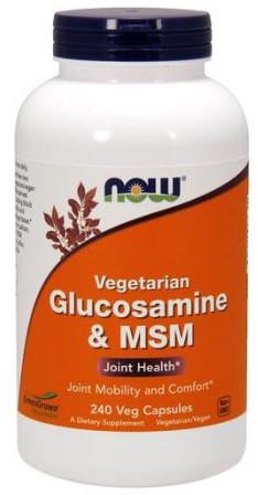 Glucosamine & MSM Vegetarian - 240 vcaps versandkostenfrei/portofrei bestellen/kaufen