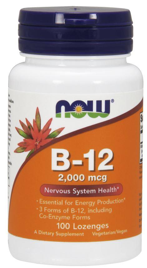 Vitamin B-12, 2000mcg - 100 lozenges versandkostenfrei/portofrei bestellen/kaufen