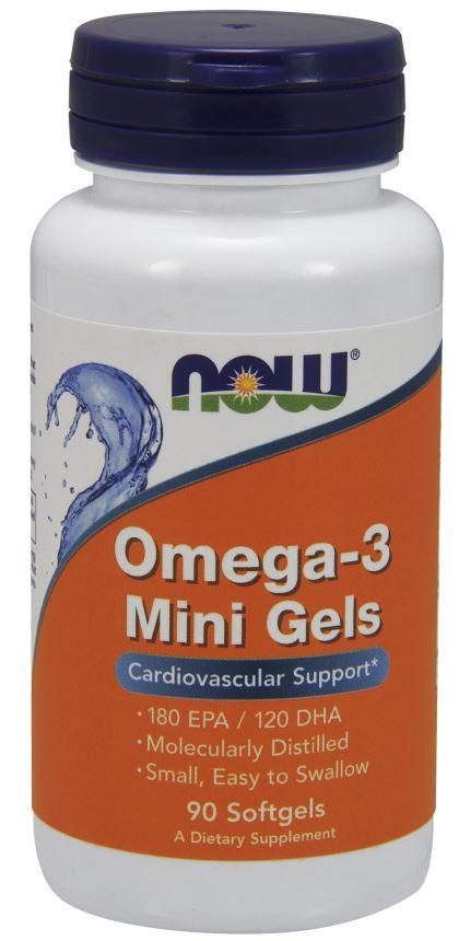 Omega-3 Mini Gels - 90 softgels versandkostenfrei/portofrei bestellen/kaufen