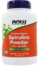Spirulina Certified Organic, Powder - 113g versandkostenfrei/portofrei bestellen/kaufen