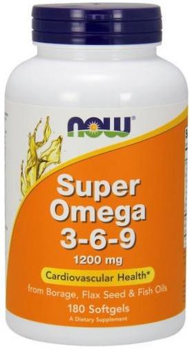 Super Omega 3-6-9, 1200mg - 180 softgels versandkostenfrei/portofrei bestellen/kaufen
