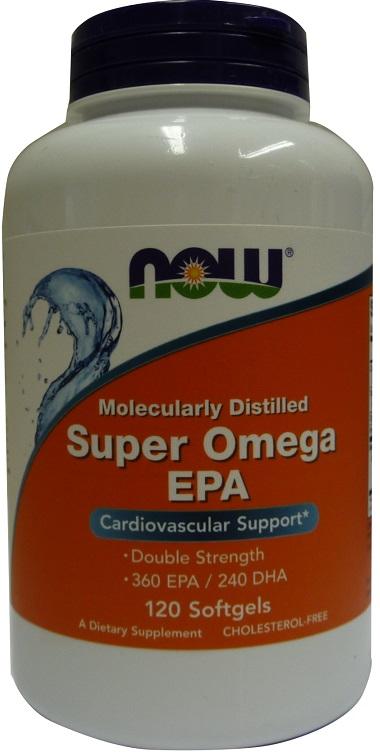 Super Omega EPA Molecularly Distilled - 120 softgels versandkostenfrei/portofrei bestellen/kaufen
