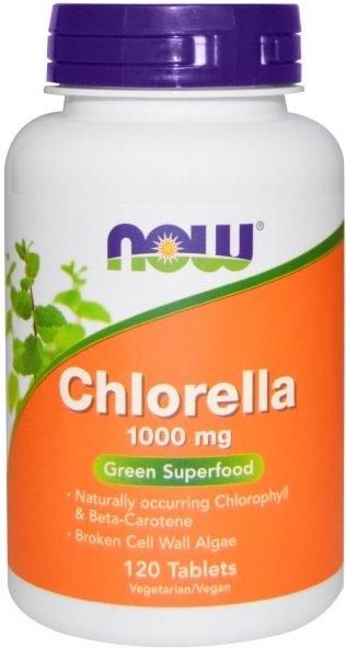 Chlorella, 1000mg - 120 tablets versandkostenfrei/portofrei bestellen/kaufen