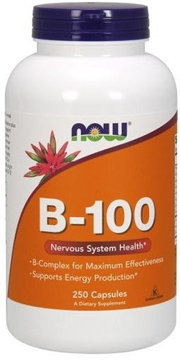 Vitamin B-100, Capsules - 250 vcaps versandkostenfrei/portofrei bestellen/kaufen