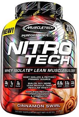 Nitro-Tech Performance Series, Cinnamon Swirl - 1810g versandkostenfrei/portofrei bestellen/kaufen