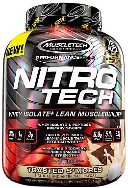 Nitro-Tech Performance Series, Toasted S'mores - 1810g versandkostenfrei/portofrei bestellen/kaufen