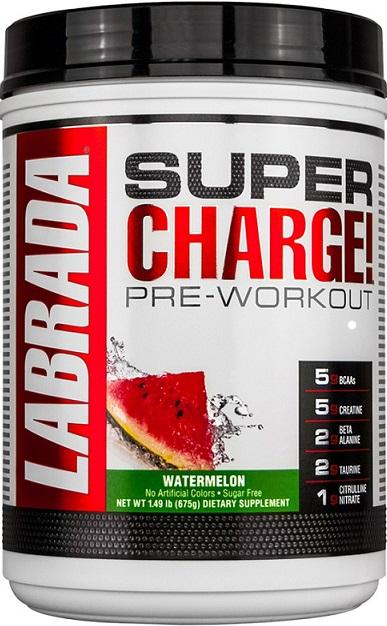 Super Charge! Pre-Workout, Watermelon - 675g versandkostenfrei/portofrei bestellen/kaufen