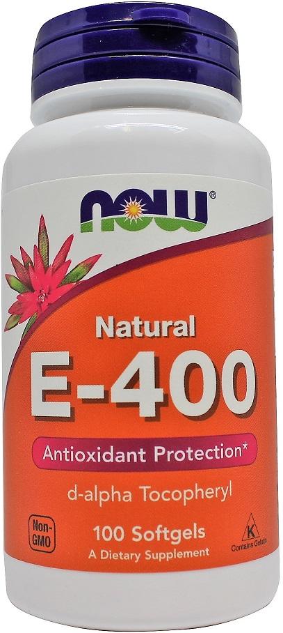 Vitamin E-400, Natural - 100 softgels versandkostenfrei/portofrei bestellen/kaufen