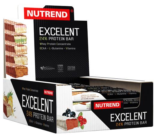 Excelent 24% Protein Bar, Vanilla & Pineapple - 18 bars (85g) versandkostenfrei/portofrei bestellen/kaufen