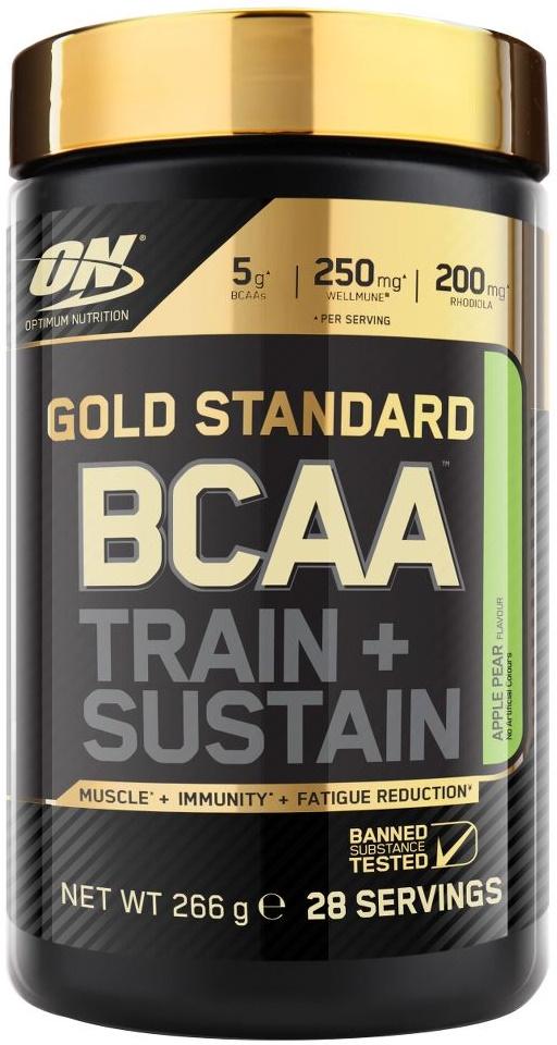 Gold Standard BCAA - Train + Sustain, Raspberry Pomegranate - 266g versandkostenfrei/portofrei bestellen/kaufen