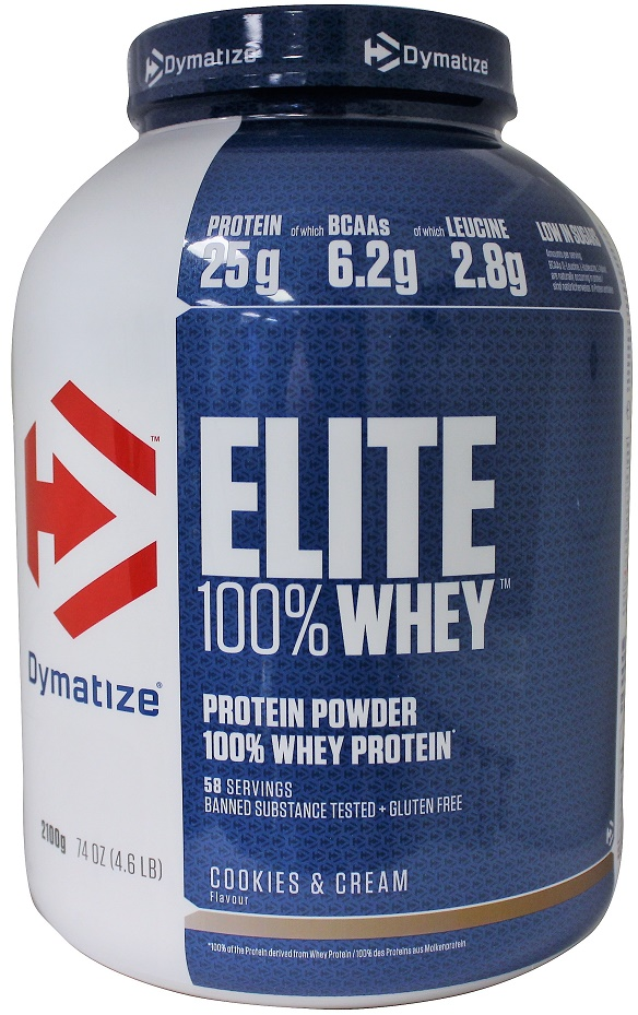 2100g, 30,98 EUR/1Kg Dymatize Elite 100% Whey Whey 100% Protein, Rich Chocolate - 2100g 7042d8