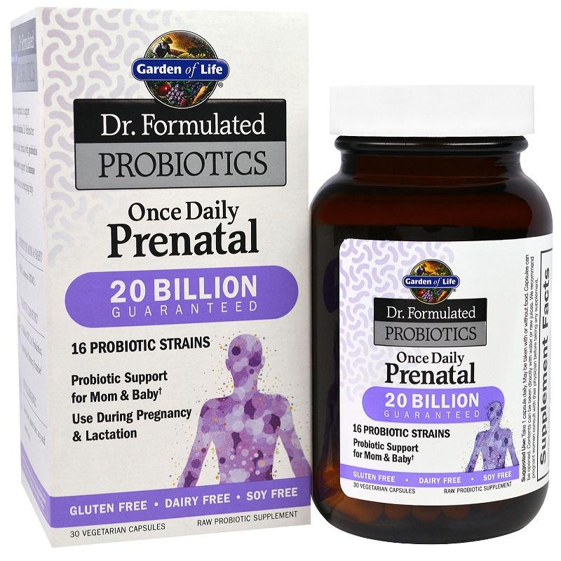 Dr. Form. Probiotics Once Daily Prenatal - 30 vcaps versandkostenfrei/portofrei bestellen/kaufen