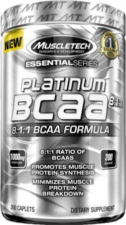 Platinum BCAA 8:1:1 - 200 caplets versandkostenfrei/portofrei bestellen/kaufen