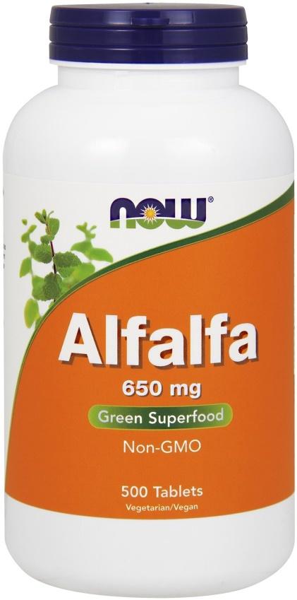 Alfalfa, 650mg - 500 tablets versandkostenfrei/portofrei bestellen/kaufen