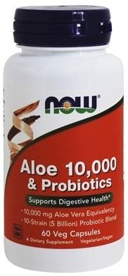 Aloe 10,000 & Probiotics - 60 vcaps versandkostenfrei/portofrei bestellen/kaufen