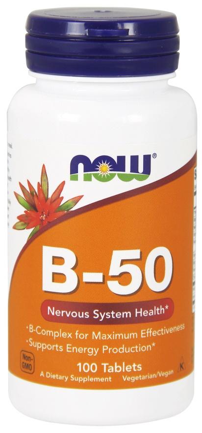 Vitamin B-50 - 100 tablets versandkostenfrei/portofrei bestellen/kaufen