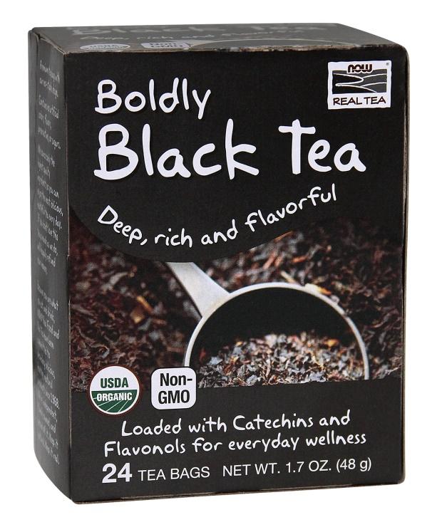 24 24 24 g, 36,17 eur/100g Now Foods Boldly Black Tea - 24 Tea Bags cb6615