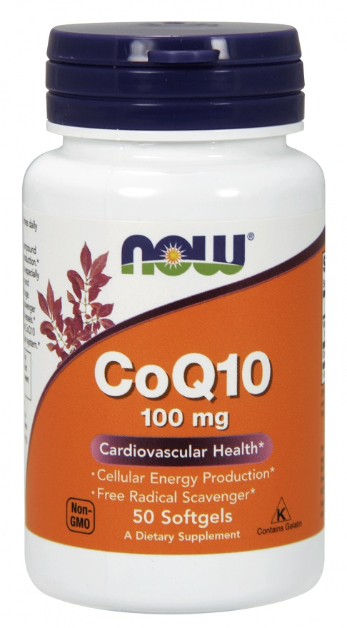 CoQ10, 100mg with vitamin E - 50 softgels versandkostenfrei/portofrei bestellen/kaufen