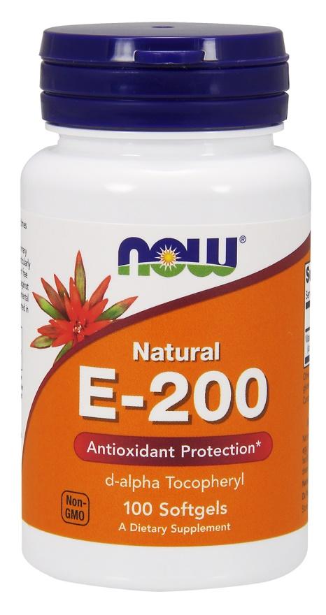 Vitamin E-200, Natural - 100 softgels versandkostenfrei/portofrei bestellen/kaufen