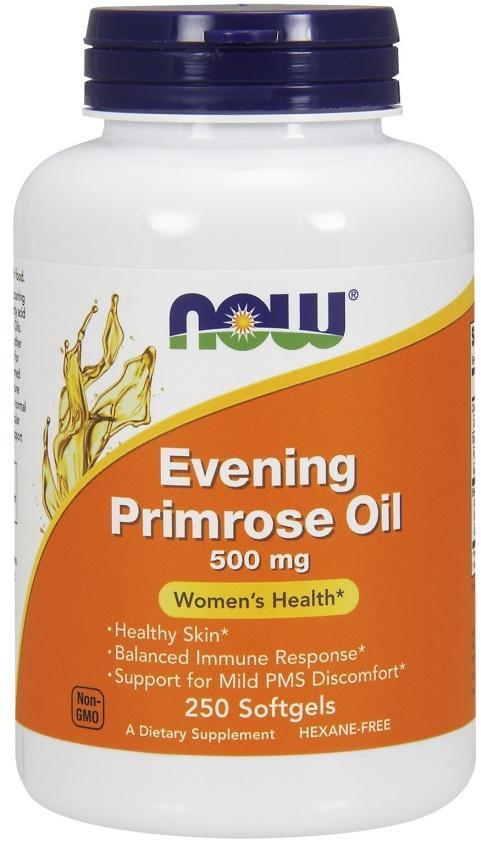 Evening Primrose Oil, 500mg - 250 softgels versandkostenfrei/portofrei bestellen/kaufen