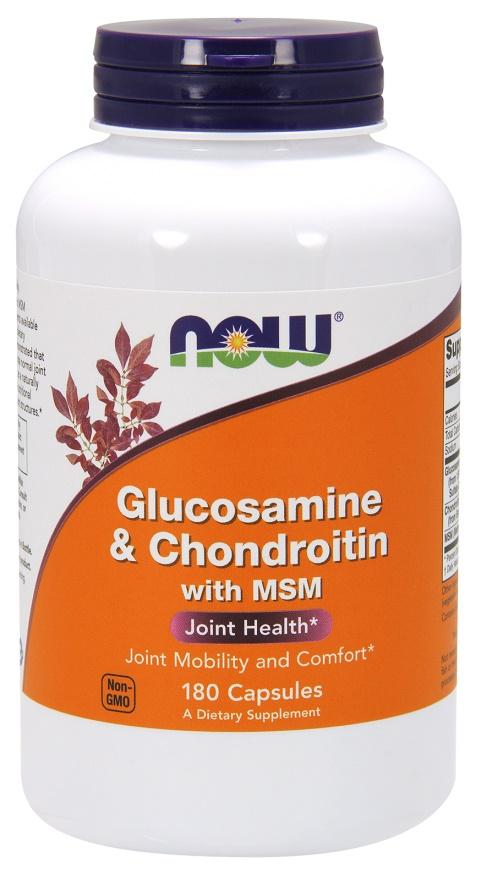 Glucosamine & Chondroitin with MSM - 180 caps versandkostenfrei/portofrei bestellen/kaufen