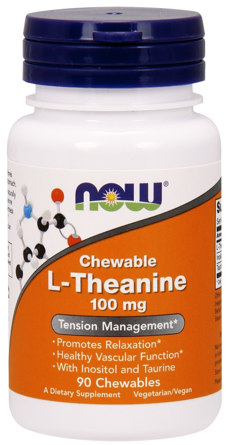 L-Theanine Chewable, 100mg with Inositol and Taurine - 90 chewables versandkostenfrei/portofrei bestellen/kaufen