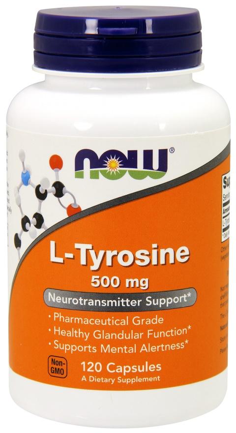 L-Tyrosine, 500mg - 120 caps versandkostenfrei/portofrei bestellen/kaufen