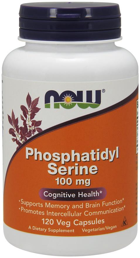Phosphatidyl Serine, 100mg - 120 vcaps versandkostenfrei/portofrei bestellen/kaufen