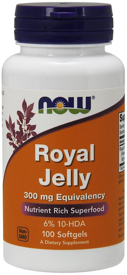 Royal Jelly, 300mg Equivalency - 100 softgels versandkostenfrei/portofrei bestellen/kaufen