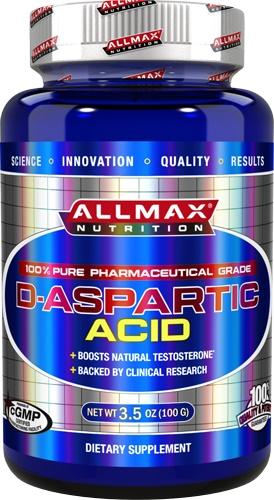 AllMax Nutrition D-Aspartic Acid - 100g