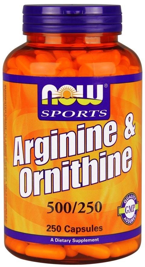 Arginine & Ornithine, 500/250 - 250 caps versandkostenfrei/portofrei bestellen/kaufen