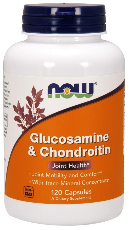 Glucosamine & Chondroitin, with Trace Mineral Concentrate - 120 caps versandkostenfrei/portofrei bestellen/kaufen