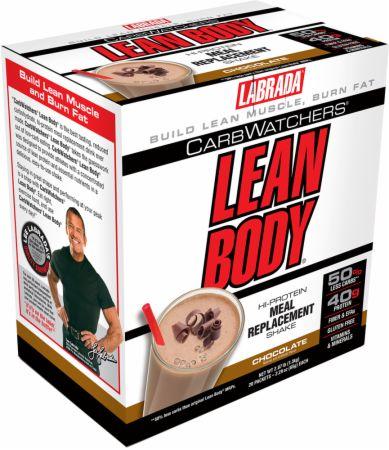 Carb Watchers Lean Body MRP, Chocolate - 20 packets versandkostenfrei/portofrei bestellen/kaufen