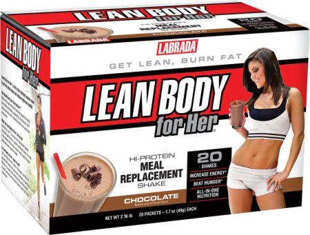 Lean Body For Her MRP, Chocolate - 20 packets versandkostenfrei/portofrei bestellen/kaufen