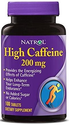 High Caffeine, 200mg - 100 tabs versandkostenfrei/portofrei bestellen/kaufen
