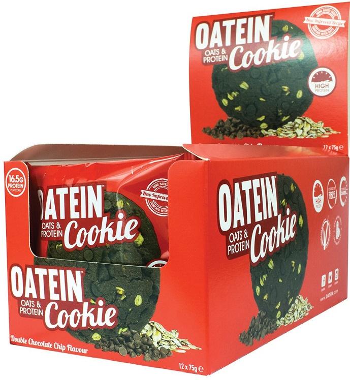 Oatein Cookie, Double Chocolate Chip - 12 cookies versandkostenfrei/portofrei bestellen/kaufen