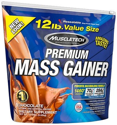 100% Premium Mass Gainer, Chocolate - 5440g versandkostenfrei/portofrei bestellen/kaufen