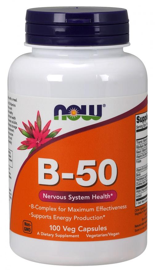 Vitamin B-50 - 100 vcaps versandkostenfrei/portofrei bestellen/kaufen