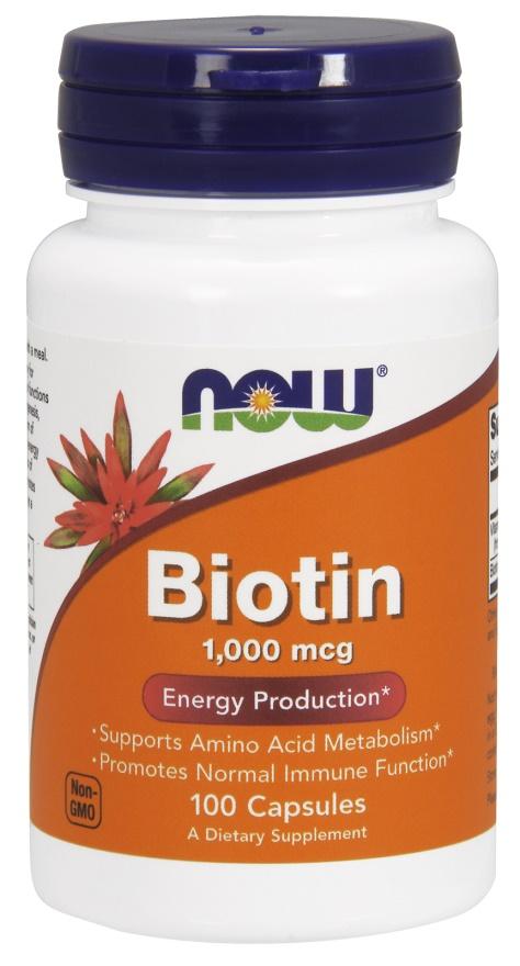 Biotin, 1000mcg with Vitamin C - 100 caps versandkostenfrei/portofrei bestellen/kaufen