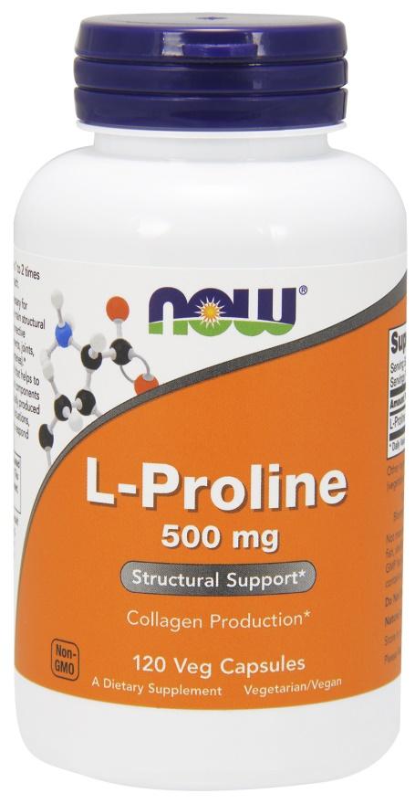 L-Proline, 500mg - 120 vcaps versandkostenfrei/portofrei bestellen/kaufen