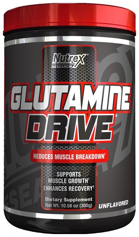 Glutamine Drive, Unflavored - 300g versandkostenfrei/portofrei bestellen/kaufen