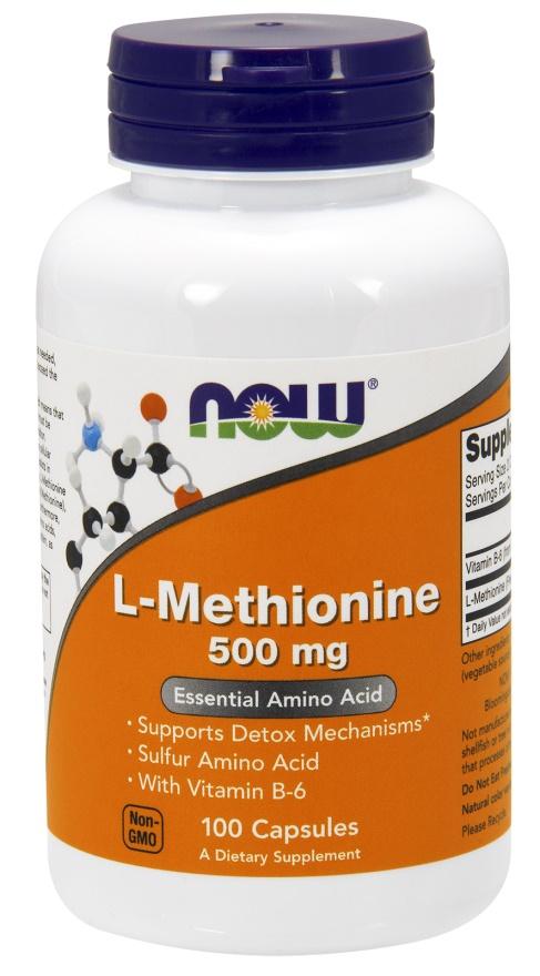 L-Methionine, 500mg - 100 caps versandkostenfrei/portofrei bestellen/kaufen