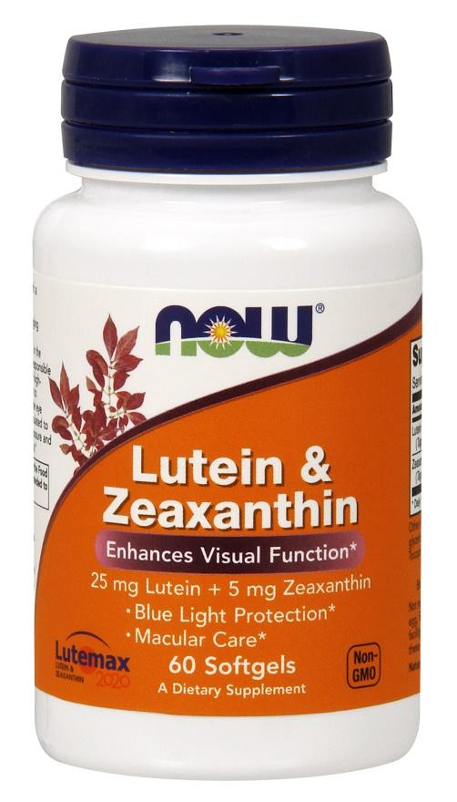Lutein & Zeaxanthin - 60 softgels versandkostenfrei/portofrei bestellen/kaufen