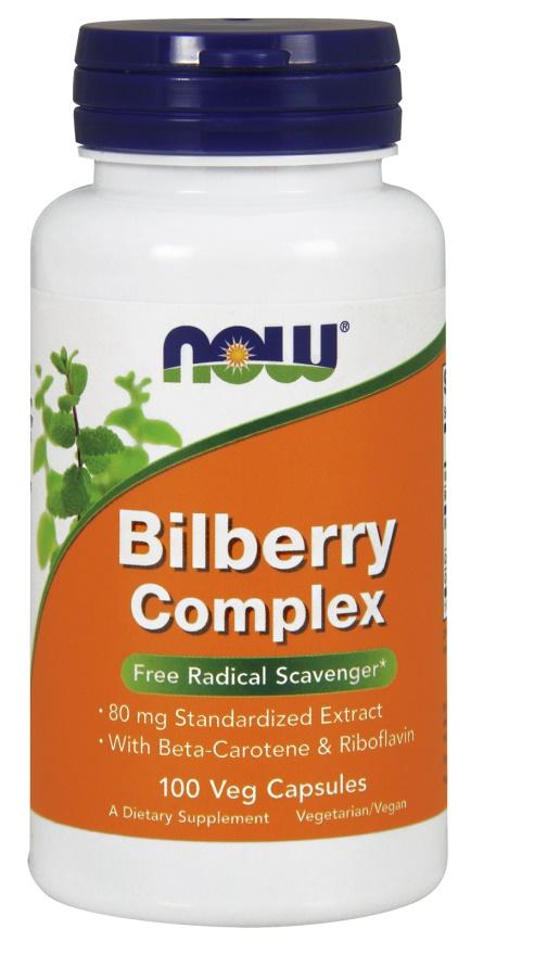 Bilberry Complex, 80mg - 100 vcaps versandkostenfrei/portofrei bestellen/kaufen