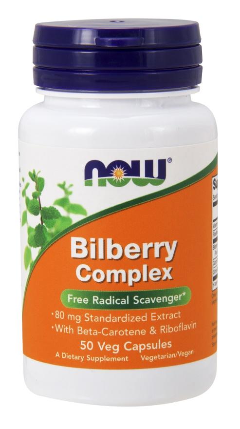Bilberry Complex, 80mg - 50 vcaps versandkostenfrei/portofrei bestellen/kaufen